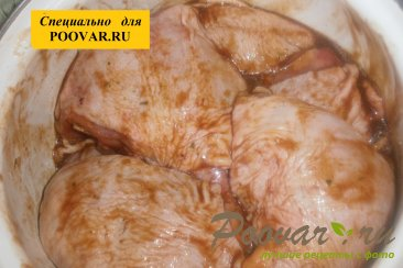 Бёдра куриные с горчицей на мангале Шаг 5 (картинка)