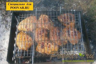 Бёдра куриные с горчицей на мангале Шаг 7 (картинка)