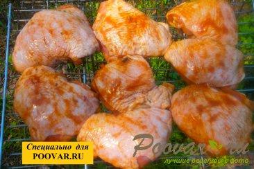 Бёдра куриные с горчицей на мангале Шаг 6 (картинка)