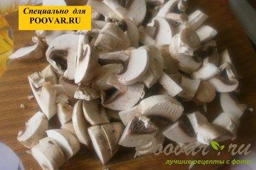 Чебуреки из дрожжевого теста с грибами и сыром Шаг 3 (картинка)