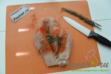 Куриная грудка с грибами в сливочном соусе Шаг 3 (картинка)
