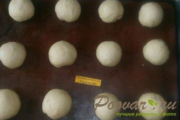 Ванильные булочки с изюмом Шаг 8 (картинка)