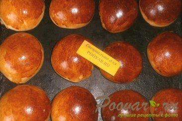 Ванильные булочки с изюмом Шаг 12 (картинка)