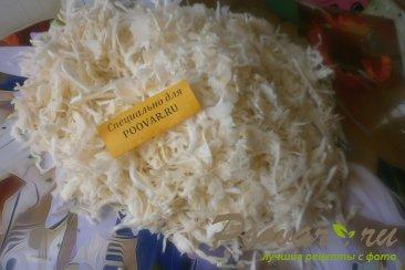 Капуста тушёная с курицей и вялеными помидорами Шаг 1 (картинка)