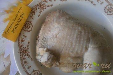 Капуста тушёная с курицей и вялеными помидорами Шаг 4 (картинка)