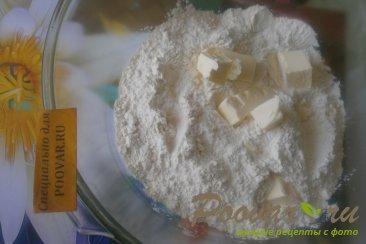 Песочное печенье с лимоном и орехами Шаг 1 (картинка)