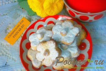 Песочное печенье с лимоном и орехами Изображение
