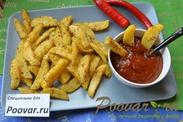 Картофель фри в микроволновке Изображение