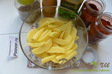 Картофель фри в микроволновке Шаг 4 (картинка)