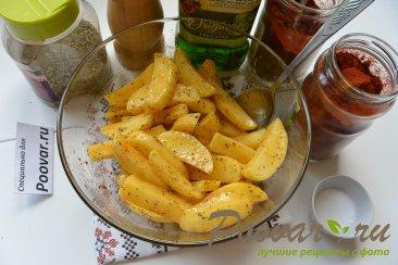 Картофель фри в микроволновке Шаг 6 (картинка)