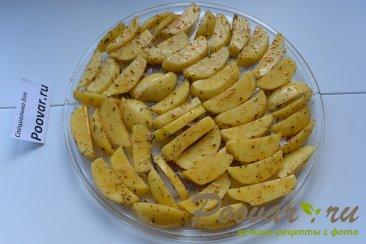 Картофель фри в микроволновке Шаг 7 (картинка)
