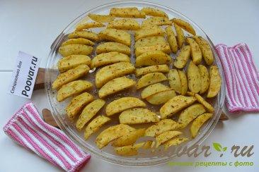 Картофель фри в микроволновке Шаг 8 (картинка)