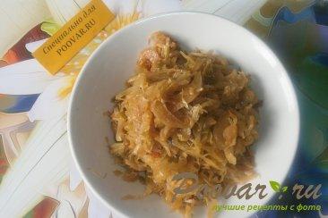 Жареные пирожки с капустой и грибами Шаг 4 (картинка)