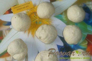 Жареные пирожки с капустой и грибами Шаг 11 (картинка)