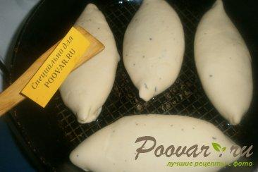 Жареные пирожки с капустой и грибами Шаг 15 (картинка)