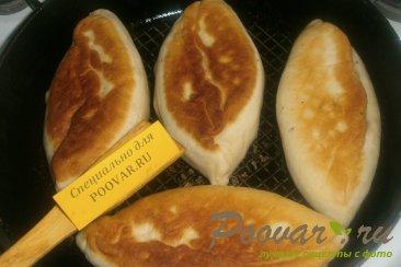 Жареные пирожки с капустой и грибами Шаг 16 (картинка)