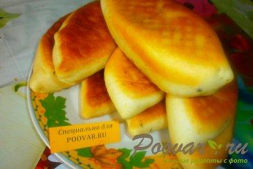Жареные пирожки с капустой и грибами Шаг 17 (картинка)