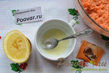 Морковный кекс с манкой (постный) Шаг 7 (картинка)