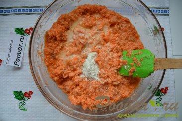 Морковный кекс с манкой (постный) Шаг 8 (картинка)