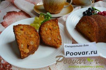 Морковный кекс с манкой (постный) Шаг 14 (картинка)