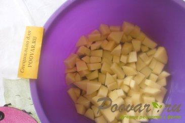 Суп с рыбными консервами и зеленью Шаг 1 (картинка)