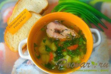 Суп с рыбными консервами и зеленью Шаг 11 (картинка)