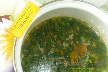 Суп с рыбными консервами и зеленью Шаг 10 (картинка)