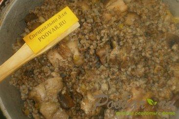 Гречка с курицей и грибами Шаг 12 (картинка)