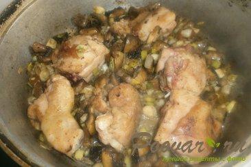Гречка с курицей и грибами Шаг 9 (картинка)