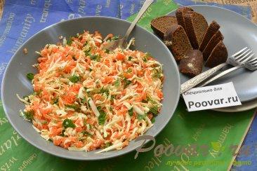 Салат из моркови с сыром Изображение