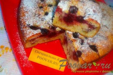 Пирог с вишней и цукатами на кефире Шаг 11 (картинка)
