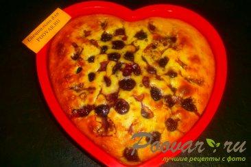 Пирог с вишней и цукатами на кефире Шаг 9 (картинка)