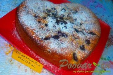 Пирог с вишней и цукатами на кефире Шаг 10 (картинка)
