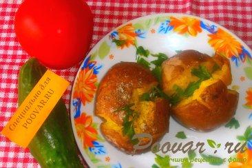 Запечённый картофель с итальянскими травами Изображение