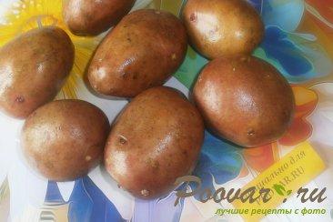 Запечённый картофель с итальянскими травами Шаг 1 (картинка)