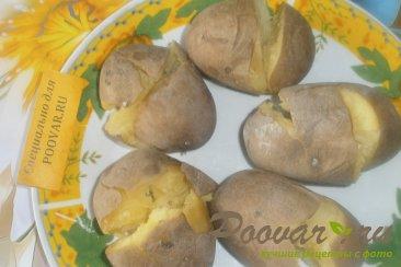 Запечённый картофель с итальянскими травами Шаг 3 (картинка)