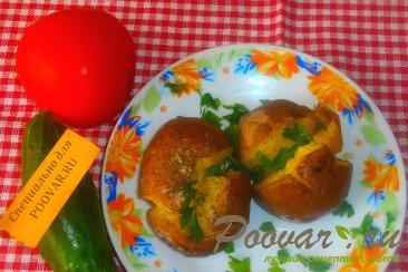 Запечённый картофель с итальянскими травами Шаг 9 (картинка)