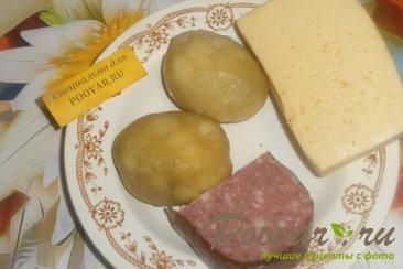 Биточки из картофеля с сыром Шаг 1 (картинка)