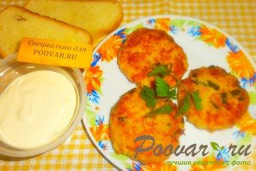 Биточки из картофеля с сыром Изображение