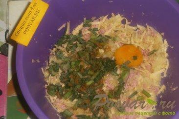 Биточки из картофеля с сыром Шаг 3 (картинка)