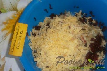 Свекольно-сырный салат с бананом Шаг 4 (картинка)