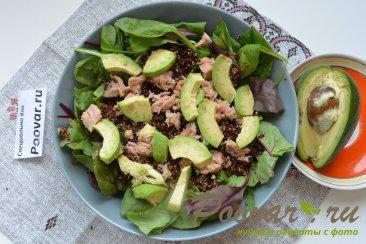 Салат из киноа, авокадо и тунца Шаг 9 (картинка)