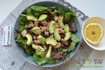 Салат из киноа, авокадо и тунца Шаг 10 (картинка)