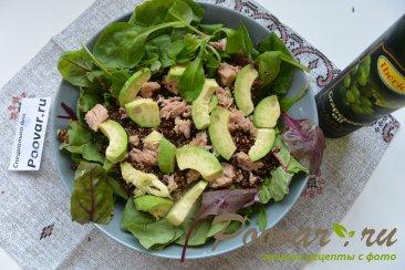 Салат из киноа, авокадо и тунца Шаг 11 (картинка)
