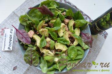 Салат из киноа, авокадо и тунца Шаг 12 (картинка)