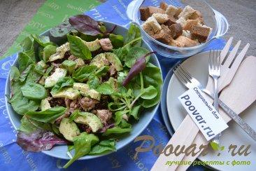 Салат из киноа, авокадо и тунца Шаг 13 (картинка)