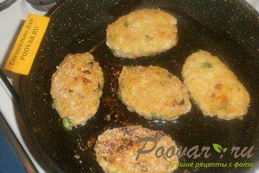 Мясные котлеты с зелёным луком и вялеными помидорами Шаг 10 (картинка)