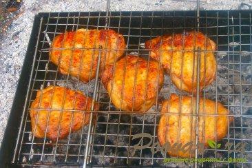 Куриные бёдра с горчицей и кетчупом Шаг 8 (картинка)