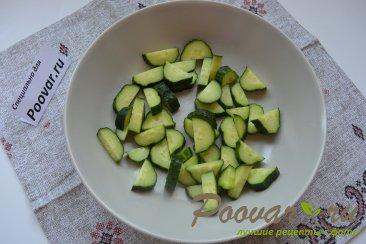 Овощной салат с кускусом Шаг 3 (картинка)