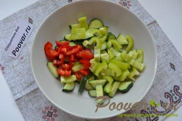 Овощной салат с кускусом Шаг 4 (картинка)